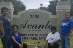 ZphiB nursing home event